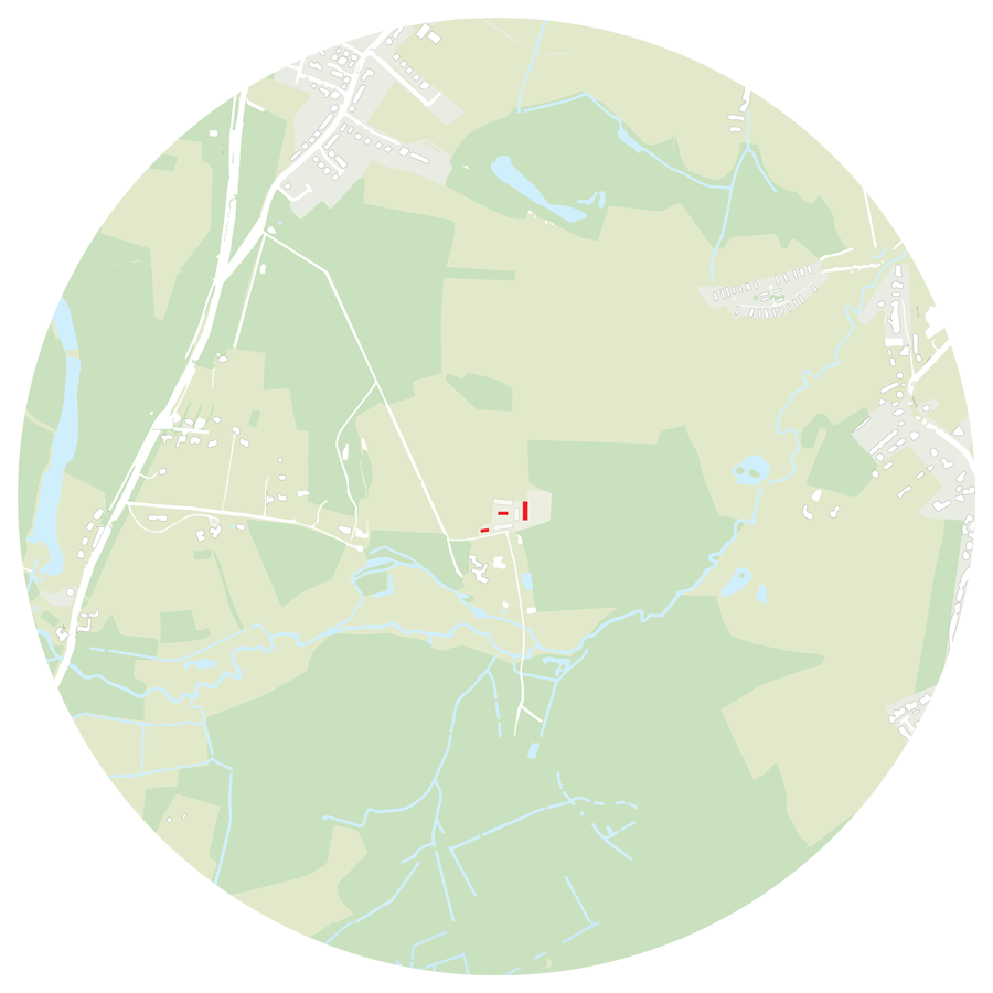 plan of the site in context